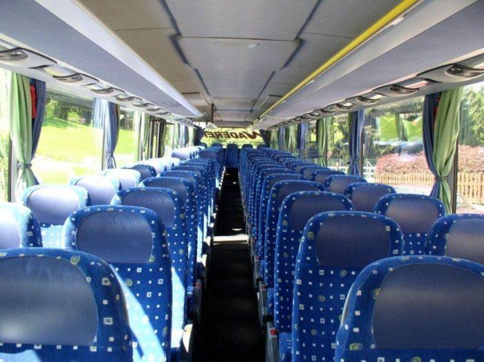 Setra 419 UL XXL: 74 Sitzer innen