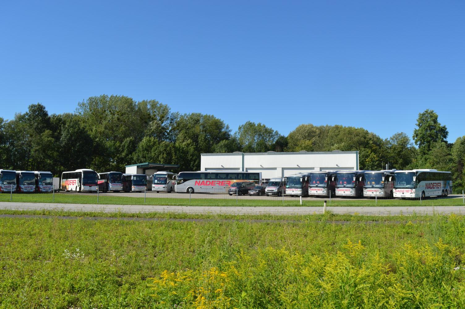 Bus fleet for rent