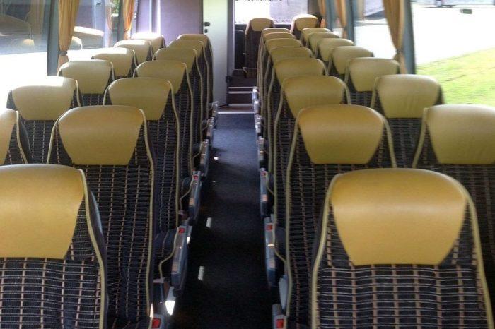 Mercedes Tourino 33 Seater Inside