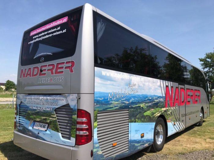Mercedes Tourismo 50seater EURO 6 Engine Rear