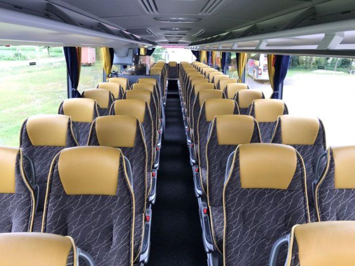 Mercedes Tourismo 63seater EURO 6 Engine Inside