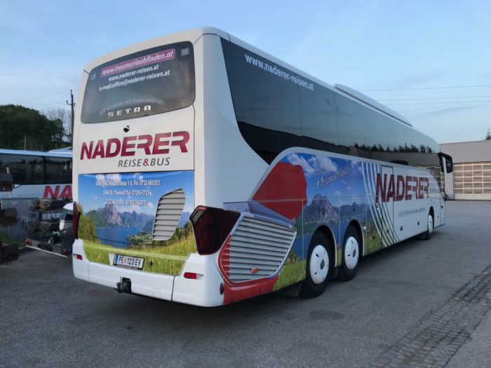 Setra 517 HD 63 Seater – EURO 6 Engine Rear