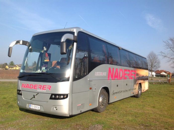VOLVO 9700 Grey 50seater Outside