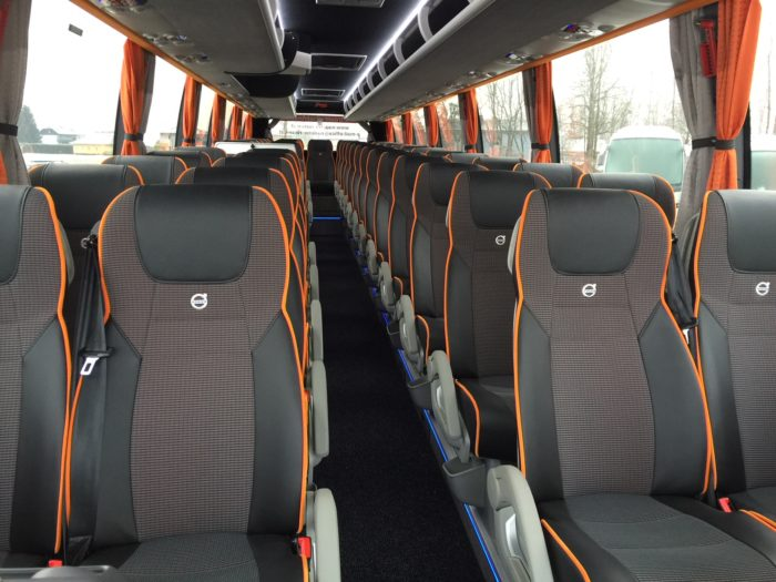 Volvo 9700H 50 Seater EURO 6 Engine Inside