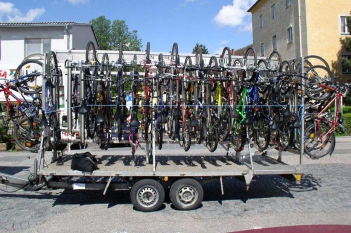 Bicycle Trailer Open